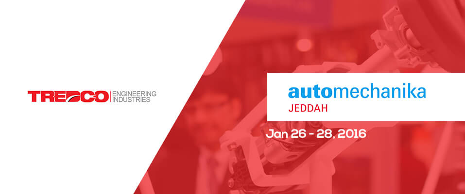 Tredco EI – Automechanika Jeddah – 26/28 Jan '16
